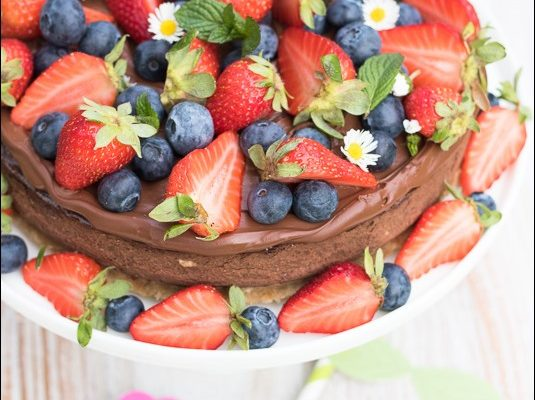 Cheesecake vegan al cioccolato