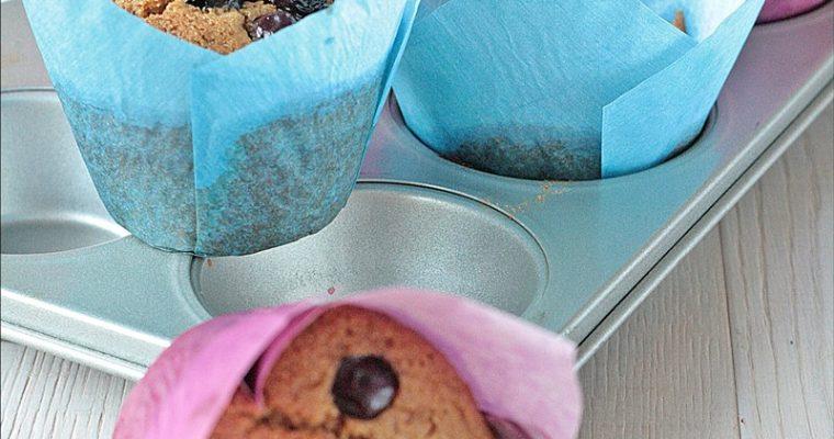Blueberry Muffins senza zucchero