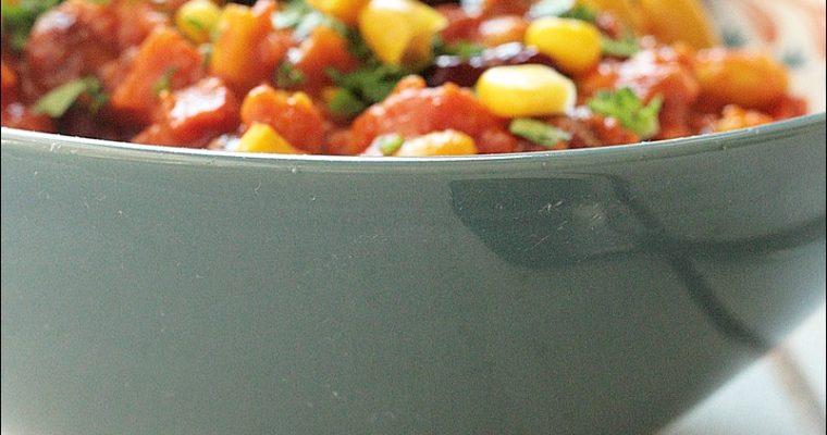 Meat Free Monday: Three Beans Chilli