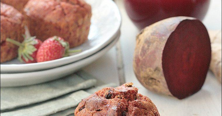 Muffins con scarti dell'estratto
