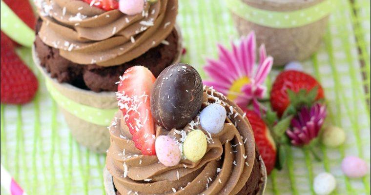 Cupcakes vegan al cioccolato