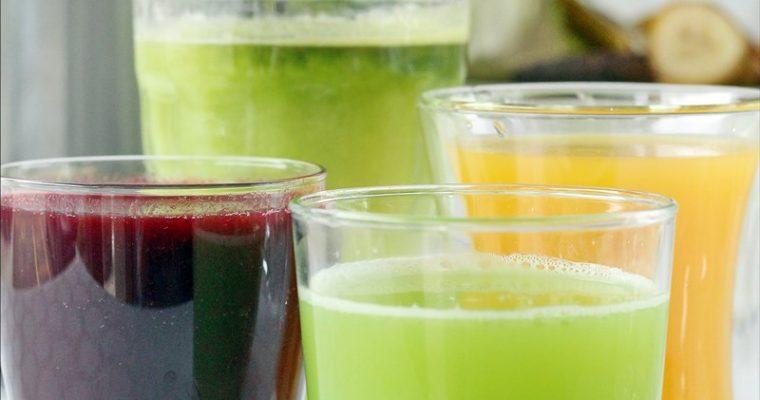 Mantenersi in forma con frutta e verdura: 4 ricette di succhi da provare con l'estrattore