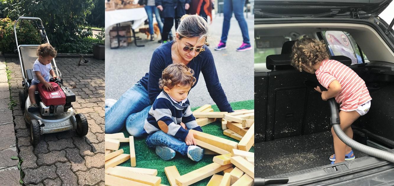 metodo montessori: attività domestiche per bambini