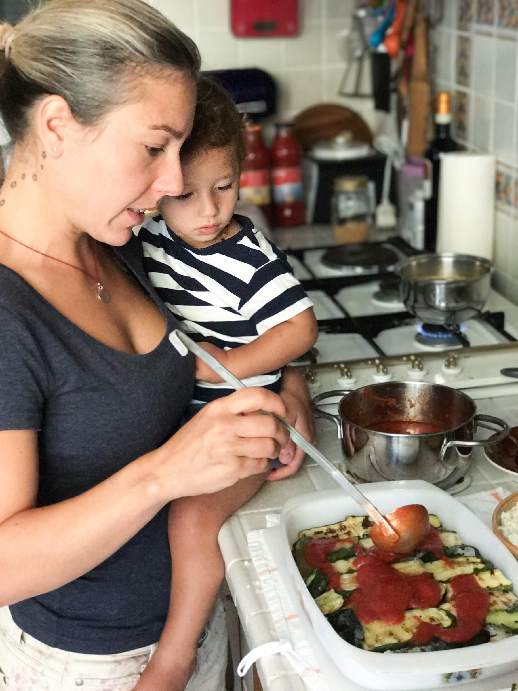 metodo montessori in cucina