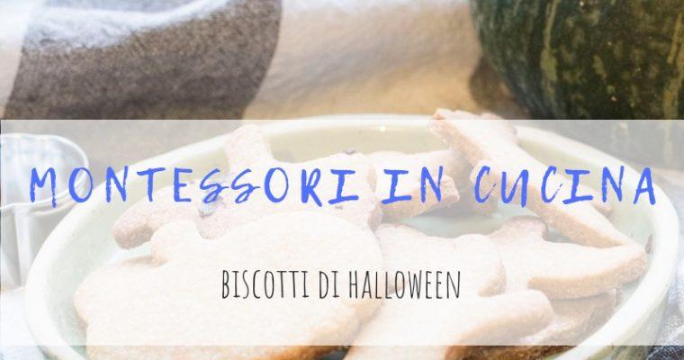 Montessori in cucina: biscotti di Halloween