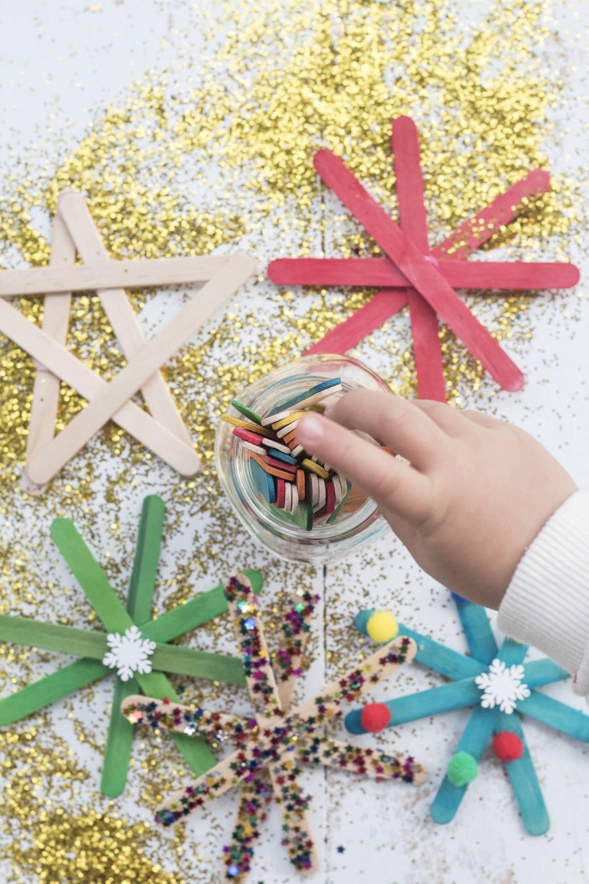 Lavoretti In Legno Per Natale natale montessori: idee facili da realizzare coi bimbi | the