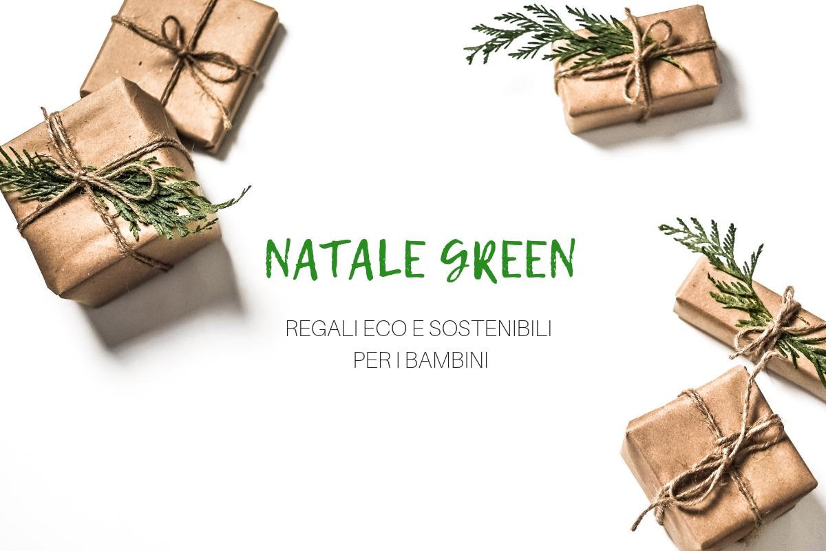 regali di natale green per bambini
