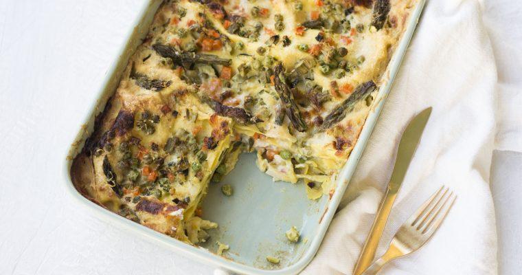 Lasagne Vegetariane con Asparagi