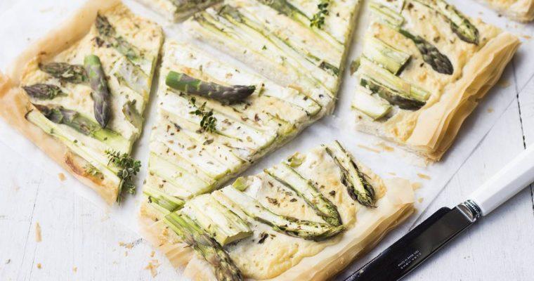 Montessori in Cucina: Quiche con Asparagi e Crema di Tofu