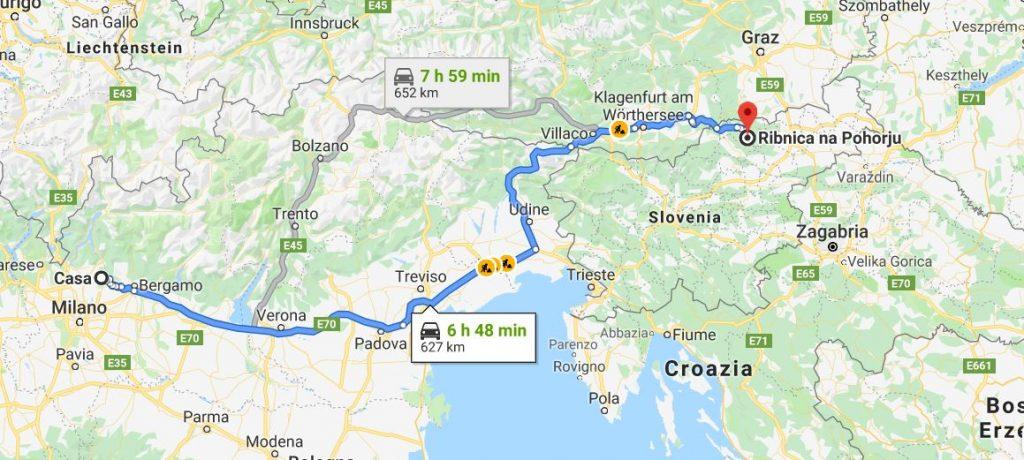 slovenia, vacanza con bambini
