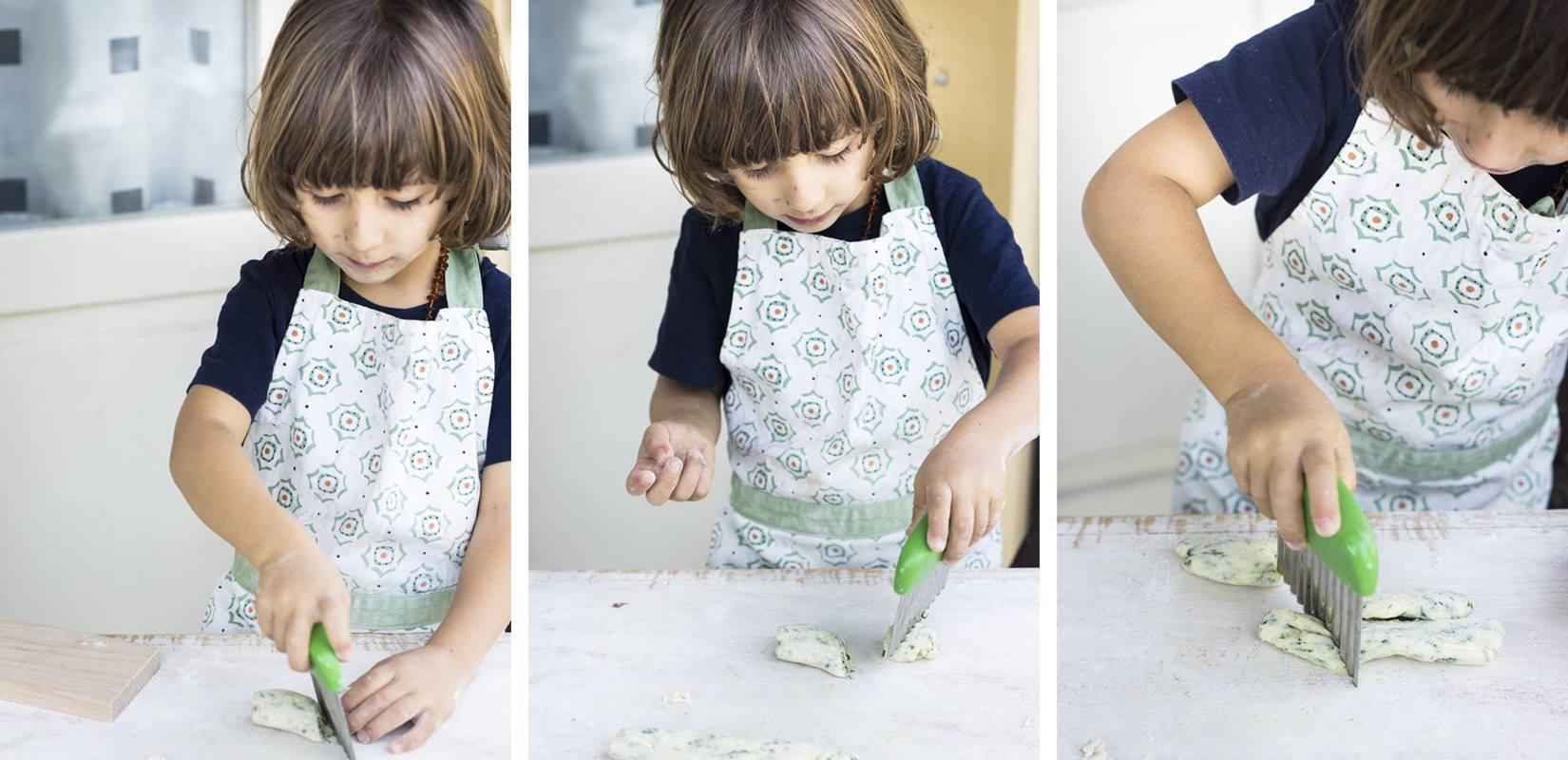 Montessori in Cucina: Gnocchi di patate e spinaci