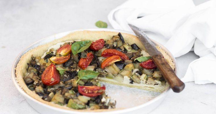 Torta Salata Vegana con Verdure Estive