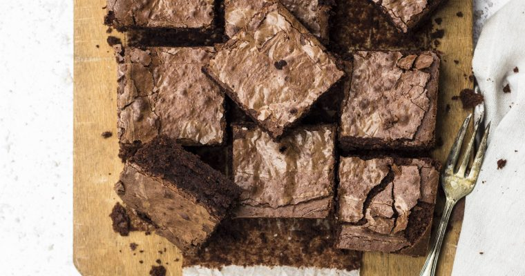 Brownies Golosi alle Castagne e Cioccolato