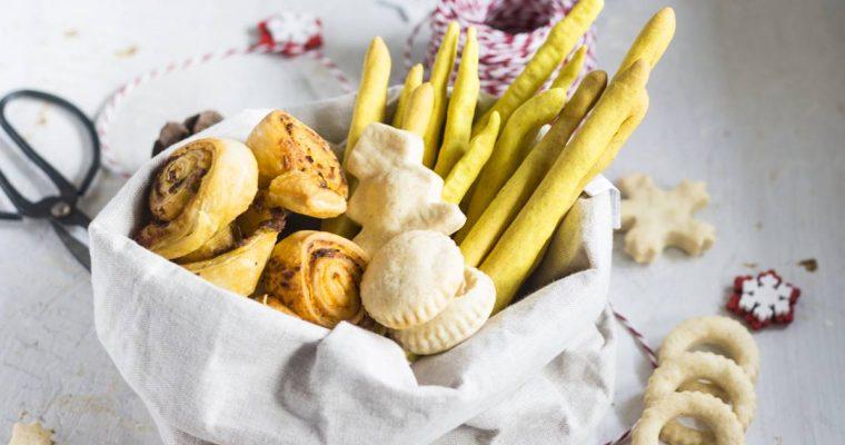 Biscotti Salati per Natale: Tre Ricette Facili e Buonissime