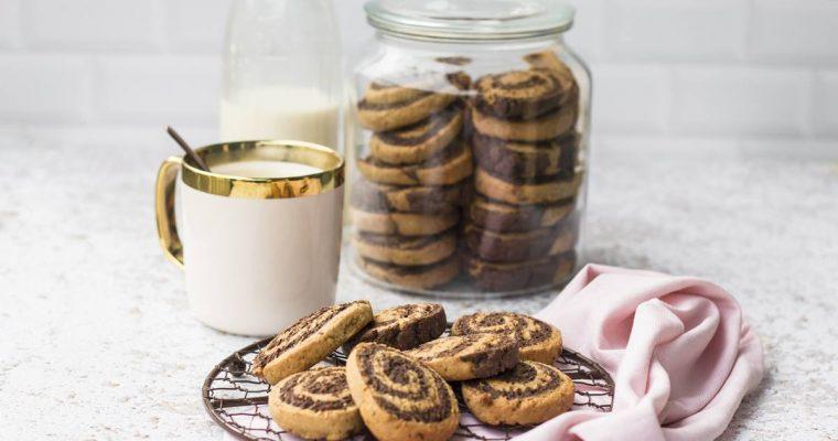 Biscotti Bicolori Integrali, come i Cioccograno.